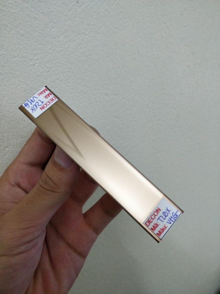 nep inox 304 nẹp nhôm chữ T V L